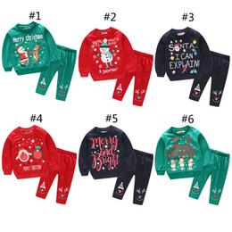4387537896 pijamas de muñeco de nieve para niñas Rebajas Niños Niñas Trajes de pijamas  de Navidad 2018
