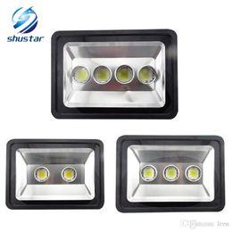 Progetti di lampade led online-LED 200W 300W 400W esterna del proiettore LED Flood lampada luce progetto impermeabile LED lampTunnel luce AC 85-265V