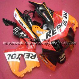 honda repsol cover Скидка 23colors + Botls repsol чехол для мотоцикла для HONDA CBR600F2 1991 1992 1993 1994 ABS мотоцикл Обтекатель корпуса