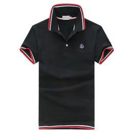Venta al por mayor de lujo 2019 Nuevo patrón de tiempo libre para hombre diseñador de camisetas para hombre diseñador de la marca camisetas diseñador de ropa polos camiseta desde fabricantes