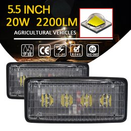 2019 lumières de voiture menées 1 PCS AR-20W LED john deere travail lumière 2200LM conduite automobile agricole 20W phares auto tête légère 24V JALN7 lumières de voiture menées pas cher