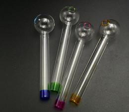 großhandel farbige wasser gläser Rabatt Großhandel Pyrex Glas Ölbrenner Rohr Farbige Glas Ölbrenner Wasserpfeifen Gläser Rohr Glas Öl Nagel Dick Klarglas Rohr Forsmokin12