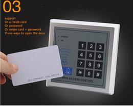 cartes de programmation Promotion nouveau en stock 5YOA RFID Toegangscontrole Systeem Apparaat Machine Beveiliging Proximité Entrée Deurvergrendeling Kwaliteit livraison gratuite DHL