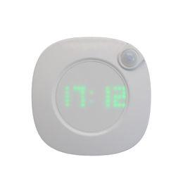 Lámpara de inducción del cuerpo humano con pantalla LED de carga por USB luz nocturna inteligente habitación del bebé luz de noche de inducción del baño desde fabricantes