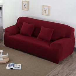 sofá de móveis de algodão Desconto Tampa de Alto Grau para Sofá Mobiliário Poltrona Moderna Sala de estar Sofá Tampa Trecho Elastic Sofá Slipcover Algodão 1/2/3/4 Lugares