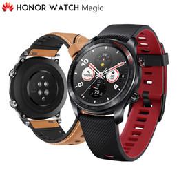 Оригинал Huawei Honor Watch Magic Открытый Смарт-часы Изысканное мастерство 7 дней на зарядку Go Anywhere умнее жизни GPS от