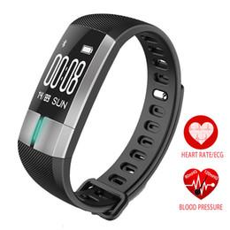 Deutschland EKG Echtzeit-Überwachung Blutdruck-Herzfrequenz-Sport Smart Fitness-Armbanduhr Intelligenter Aktivitäts-Tracker supplier bracelet intelligent sports android Versorgung