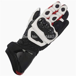 moto gp gloves Promo Codes - 2020 new style motorcycle leather gloves long M1 GP gloves GP PRO motorcycles Moto racing leather