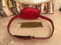 Neue klassische gürtel online-2019 neue Art- und Weisehandtaschen-Frauen-Beutel-Gürteltasche Gürteltaschen-Dame der Beutel-Frauen klassische Kasten-Handtasche Freies Verschiffen