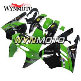 ABS Kunststoff NINJA ZX-9R 94-97 Vollverkleidungen für Kawasaki ZX9R ZX-9R 1994 1995 1996 1997 Motorrad-Elf-Grün-Schwarz-Verkleidung angepasst von Fabrikanten