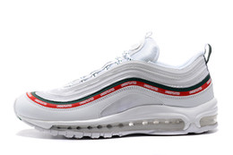 huge selection of 9c00b 74aa6 max 97 2019 - Newest Undefeated 97 Ultra OG Plus Men Running Shoes air Run  Black