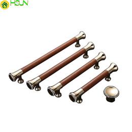 2pcs luxe poignées de porte en alliage de zinc pour armoires de cuisine / garde-robe / bouton de chambre à coucher meubles poignée brune Z-2121 ? partir de fabricateur