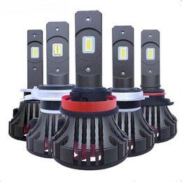 2019 hb4 led scheinwerfer Super helle H4 LED Birne H7 LED H11 H8 H1 CSP-Auto-Licht-Scheinwerfer-Birne HB3 9005 9006 HB4 10000LM 100W 6000K 12V 24V Automobil günstig hb4 led scheinwerfer