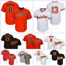 720a730cbe6 8 Cal Ripken Jr. Baltimore jersey Oriol 12 Roberto Alomar 13 Manny Machado  10 Adam Jones