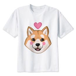 Deutschland Shiba Inu T-shirt Männer T-shirt Mode T-shirt O Hals Weiß T-shirts Für Mann Top Tees Mmr521 Versorgung