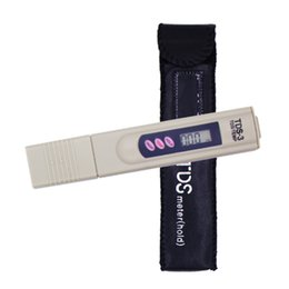 2019 ph misuratore di conducibilità HM Drinking Home Digital Portable Purezza Misuratore Penna Filtro Tester Alta precisione TDS Qualità dell'acqua PPM