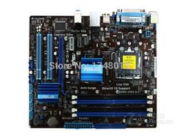 cartes mères lga 775 Promotion Livraison gratuite carte mère originale P5G41C-M LX DDR2 DDR3 LGA 775 tout solide motherborad de bureau