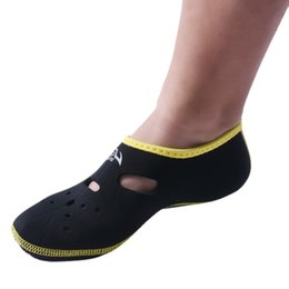 Yüzgeçleri Neopren Kısa Plaj Flippers kaymaz Antiskid Scuba Dalış Boots Wetsuit Dalış Ayakkabıları H5 cheap scuba diving flippers nereden tüplü dalış paletleri tedarikçiler