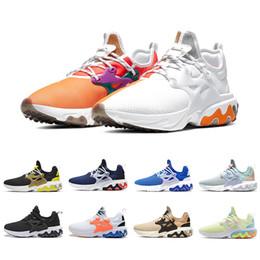 presto nero Sconti Nike air presto react shoes  Cheap React Presto Uomo Donna Running Shoes Triple Black Rabid Panda Breezy Giovedi Brutal Honey Prestos Mens Sneaker Sneakers sportive