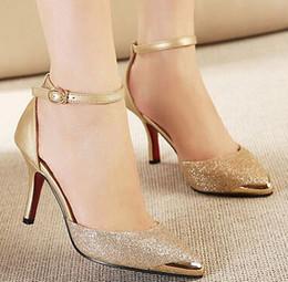 H sapatos on-line-Fascinating2019 Bombas Mulheres Sapatos Sandálias Dourado H