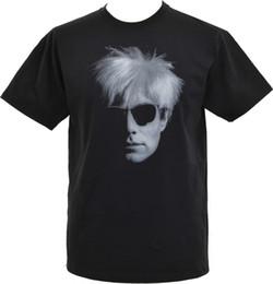 Arte de veludo preto on-line-MENS PRETO T-SHIRT ANDY WARHOL POP ART A FÁBRICA de VELUDO UNDERGROUND PUNK S-5XL Engraçado 100% Algodão Camiseta Color Jersey Imprimir Camiseta