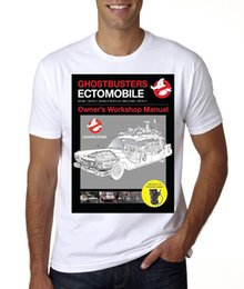 Couvertures manuelles en Ligne-NEW GHOSTBUSTER ECTO 1 REPAIR MANUAL COVER t-shirt ADULT AND KIDS SIZES