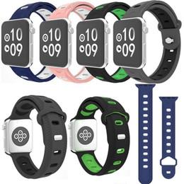 2019 резиновые браслеты Силиконовый ремешок для Apple Watch Bands 42 мм 38 мм 40 мм 44 мм серии 4 3 2 1 Iwatch ремешок для часов резиновый браслет Смотреть Band дешево резиновые браслеты