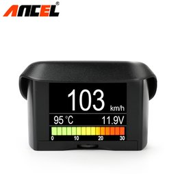 car fuel meter Coupons - ANCEL A202 Smart OBDII Gauge Car Speed Meter Water Coolant Temperature Fuel Consumption Voltage Display OBD2 automotive Scanner