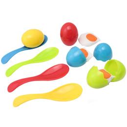 kindergarten kinder spiele Rabatt Outdoor Fun Sports Spielzeugsport BOHS Running Balance Eggs, Kindergarten Outdoor Sport Kids Fair Party Game Spielzeug - Sensorische Integration