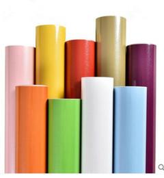 chinesische wandschnitzereien Rabatt Wasserdichte Volltonfarbe Perlglanzfarbe Tapete selbstklebende Tapetenmöbel Renovierung Aufkleber Garderobenschrank Tür