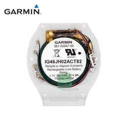 Bateria de substituição Garmin Forerunner 210 Running Watch com parte inferior branca de Fornecedores de mini barco solar