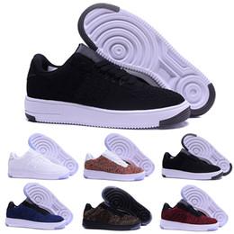 buy popular 69bcb 8036d nike flyknit air force 1 one Mode Hommes Chaussures Faible One 1 Hommes  Femmes Chine Chaussure En Plein Air Designer Designer Royaums Type Respirez  Skate ...