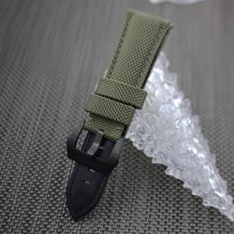 2019 fivela de pam Venda Por Atacado pulseira de relógio pulseira de nylon 22mm 24mm 26mm à prova d 'água esporte relógios de pulso banda fivela de aço inoxidável para PAM desconto fivela de pam