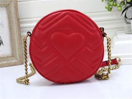 Роскошные в форме сердца сумки на ремне, круглые сумки, женские красный рюкзак, модная сумка через плечо, девушки, круглые пакеты, повседневные кошельки, сумка 19 * 6 * 19см supplier heart shaped red handbag от Поставщики красная сумочка в форме сердца