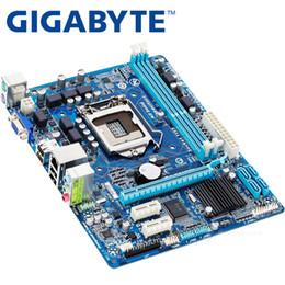 x58 motherboards Rabatt GIGABYTE GA-H61M-DS2 Desktop-Motherboard H61 Sockel LGA 1155 i3 i5 i7 DDR3 16G uATX UEFI BIOS Original H61M-DS2 verwendet