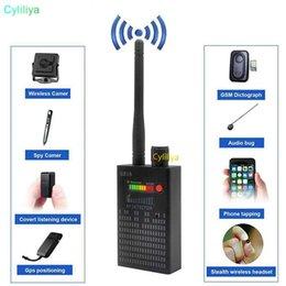Беспроводной объектив онлайн-Ручной детектор G318 Беспроводной детектор радиосигнала Сигнал CDMA Детектор высокой чувствительности обнаруживает объектив камеры / GPS-локатор Device Finder