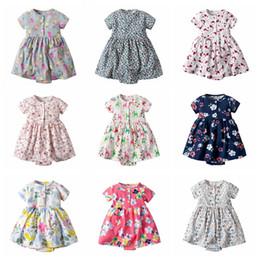 2020 barboteuses florales mignonnes Mignon bébé barboteuses floral ananas imprimé bébé une pièce combinaison bébé fille beaux vêtements en été de nombreux styles barboteuses florales mignonnes pas cher