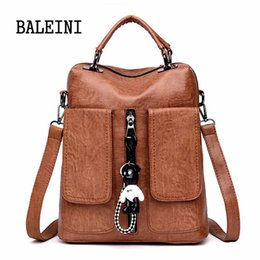 621fbf786847 Women Backpack Female Back Pack College Style Leather Backpack Fashion  School Backpacks Vintage Student Schoolbag Retro Rucksack