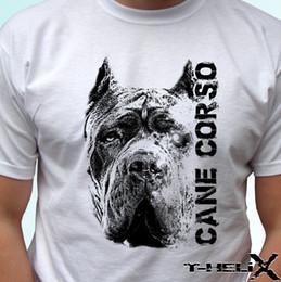 Cabeza de Cane Corso - diseño de camiseta superior de camiseta para perro - hombres, mujeres, niños, tallas de bebé al por mayor, divertidas camisetas de alta calidad, camisetas, verano 100% algodón desde fabricantes