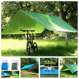 Tapis de camping en Ligne-Tapis de camping étanche 3 * 3M Matelas Tente Extérieure En Tissu Multifonction Auvent Bâches Auvent Tapis De Pique-Nique Au Sol Tapis MatT2I5090