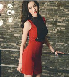 сексуальные корейские бедра Скидка 2019 летняя корейская версия сексуальной полой тонкой сумки сшитого платья