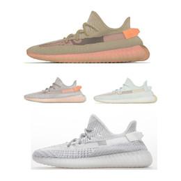 2019 janoski sapatos baratos 2019 NEW V2 3 M Forma de Argila Estática Reflexivo Hyperspace Branco Preto Branco Bred Mens Running Shoes Mulheres Kanye West Moda Esporte Tênis