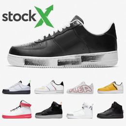 nike air force 1 one air forces shoes AIR FORCE 1 ONE AF1 SHOES US5.5 11 Utilitaire Noir Blanc Dunk 1 Chaussures Décontractées Hommes Femmes