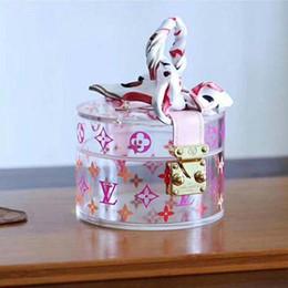 kanäle taschen schulter Rabatt SCOTT 2020 neuer stilvoller transparent Aufbewahrungsbox Luxus Aufbewahrungsbox Luxusmodemodedruck einen Kasten Modell bringen: GI0203 A11
