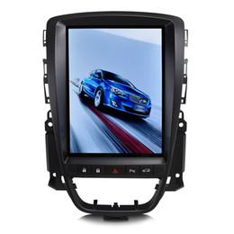 """Krando Android 7.1 10.4 """"Tesla Вертикальный автомобильный DVD-плеер Мультимедийный плеер GPS для Buick Excelle Opel Astr J 2010-2014 аудио KD-BE142 от"""