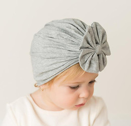 Mother & Kids Boys' Baby Clothing Honey Baby Toddler Boys Girls Indian Style Stretchy Solid Turban Hat Hair Head Wrap Cap