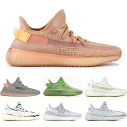 Zapatos estáticos baratos GID CLAY HIPERSPACIO Forma verdadera crema Zebra Bule Tint triple blanco zapatillas para hombre zapatillas de deporte deportivas tamaño 36-45 desde fabricantes
