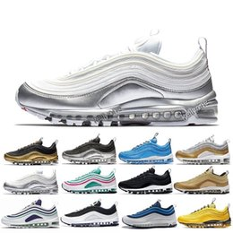 5970f35b9231f5 Free Shipping Air Summit White 97 scales White Sneakers OG Man Women Sport  Outdoor Trainers Maxes Running Shoes inexpensive 97 max