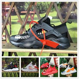 Argentina Nike Air Huarache Hombres para mujer Huarache Ultra 6S Respirar tejido Deriva Huaraches 6 Zapatillas de correr Zapatillas Runner 4 Zapatillas deportivas Descuento originales color cheap woven running shoes Suministro