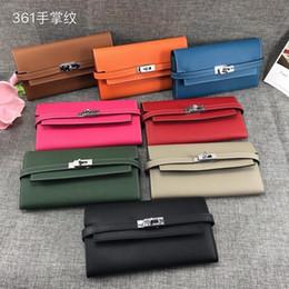 Deutschland Huweifeng6 Brieftasche Palm Print Brieftasche Handtasche Dual-Use-Modelle Frauen H361 Kette Geldbörsen Portemonnaie Frauen Handtasche Schulter Totes Mini Bag Kupplungen cheap dual use bag Versorgung